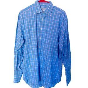 Charles Tyrwhitt Men's Size 16 1/2-34 Button Up